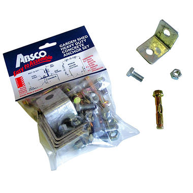 Absco Anchor Pack - Set of 8 with hardware