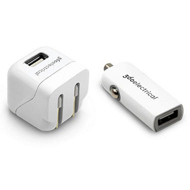 360 Electrical USB Charging Kit