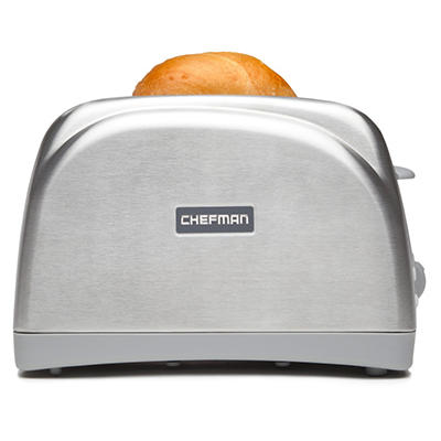 Chefman Stainless Steel 2 Slice Toaster