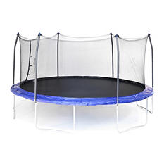 Skywalker Trampolines 17 x 15 Oval Trampoline and Enclosure Combo