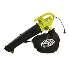 Sun Joe Blower Joe 3-in-1 Electric Blower, Vacuum & Leaf Shredder