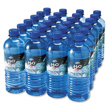 100% Natural Bottled Spring Water - .5 L 24 pk.