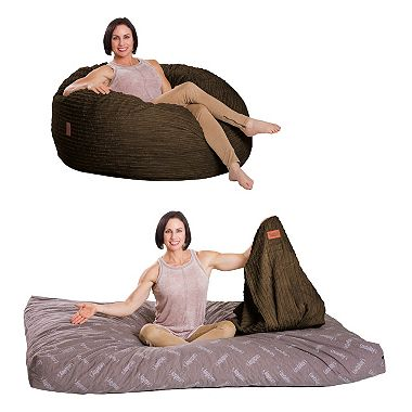 CordaRoy's Full Sleeper Bean Bag Chair