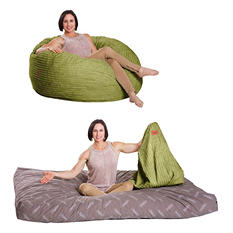 CordaRoy's - Kiwi Terry Cord Beanbag Chair - Full Sleeper (OFFLINE)