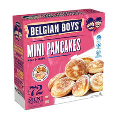 Belgian Boys Mini Pancakes (21.2 oz., 72 ct.)