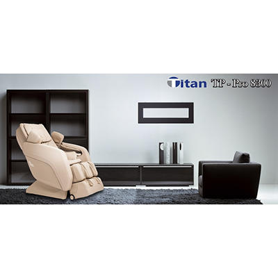 Titan Pro TP-8300 Massage Chair, Cream
