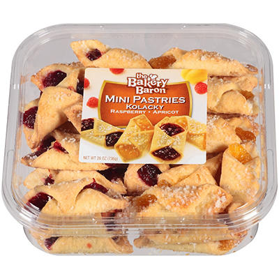 The Bakery Baron Kolacky Mini Pastries - 26 oz.