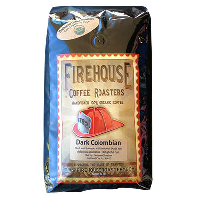 Firehouse Coffee Roasters Handpicked 100% Organic Coffee - 2 lbs.