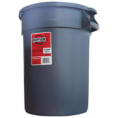 Ruffian 32 Gallon Heavy Duty Trash Can