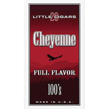Cheyenne Little Cigars Full Flavor 100s - 200 ct.