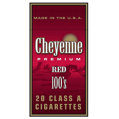 Cheyenne Red 100s Box - 200 ct.
