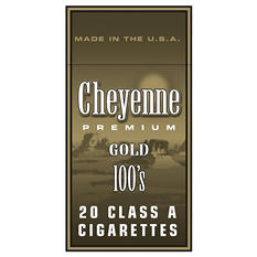 Cheyenne Gold 100s Box - 200 ct.