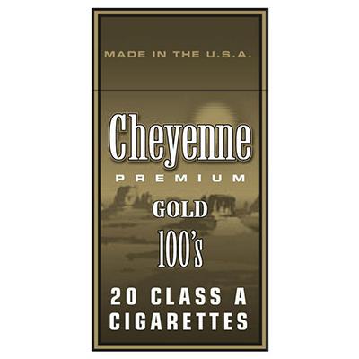 Cheyenne Gold 100s Box - 200 ct.