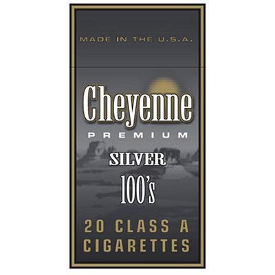 Cheyenne Silver 100s Box - 200 ct.