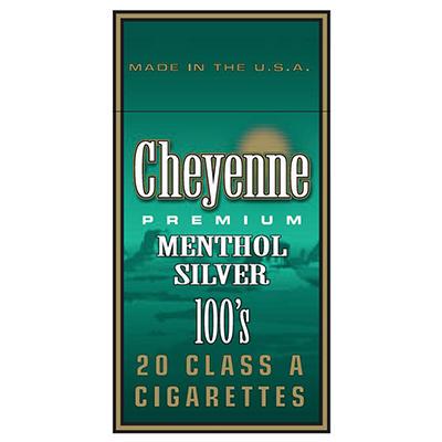 Cheyenne Menthol Silver 100s Box - 200 ct.