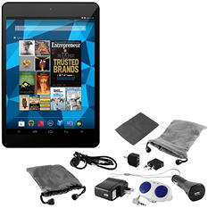 "7.85"" Ematic EGQ780-SL Super Slim Tablet  - 8GB w/ 10 Piece Accessory Kit"