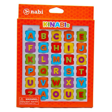 Kinabi Alphabet Pack ? Colorful Letters