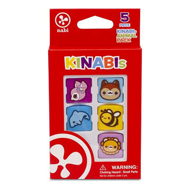Kinabi Animals Interest 5 Pack - Various Animals
