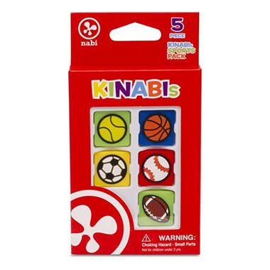 Kinabi Food Interest 5 Pack – Various Desserts
