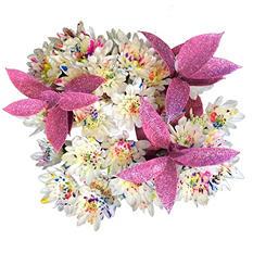 Confetti Pompom Bouquets (80 Stems)