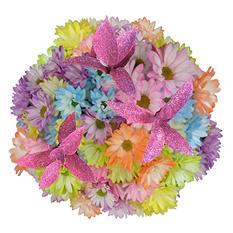 Pastel Pompom Bouquets (80 Stems)