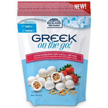 Greek on the Go! Strawberry Granola Yogurt Bites - 22 oz.