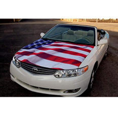 AutoGlove Hood Cover   - American Flag