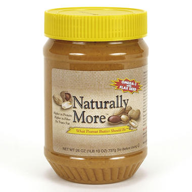 Naturally More Peanut Butter -  26oz.