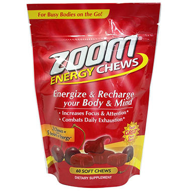 Zoom Chews - Berry Cherry - 60 ct.