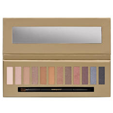 Makeup Works Glam Perfection Eyeshadow Palette, Smokey or Nude