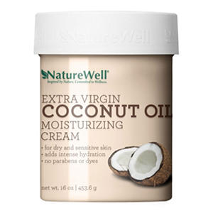 Nature Well Extra Virgin Coconut Oil Moisturizing Cream (16 oz.)