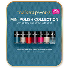 Makeupworks Mini Polish Collection (0.07 fl oz., 6 ct.)