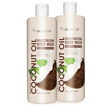Nature Well Coconut Oil Body Wash (24 fl. oz., 2 ct.)