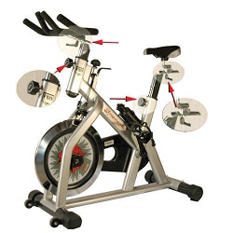 Fitnex Momentum Exercise Bicycle