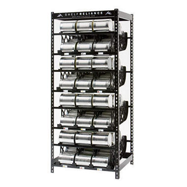 Shelf Reliance Plenty Food Rotation System - 72""