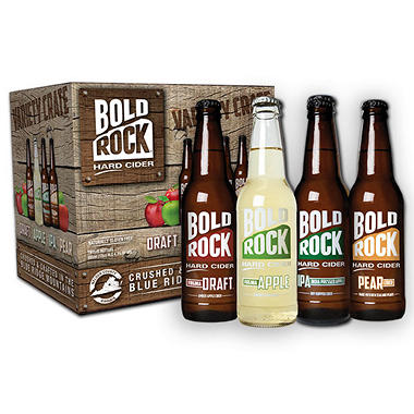 BOLD ROCK VARIETY 12 / 12 OZ BOTTLES