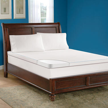 "ComforZen 2.5"" Memory Foam Mattress Topper - Twin"