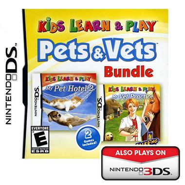Kids Learn & Play:  Pets & Vets Bundle - NDS