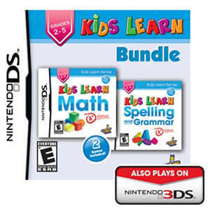 Kids Learn: Math and Spelling Bundle - NDS