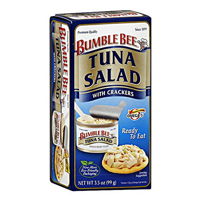 Bumble Bee Tuna Lunch Kit - 3.5 oz. - 12 ct.