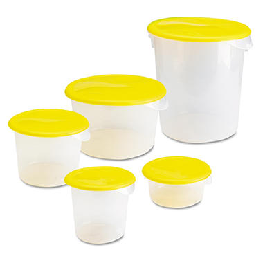 Rubbermaid� Round Storage Container ? 2 qt.