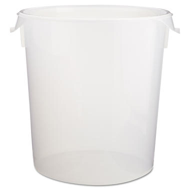 Rubbermaid� Round Storage Container ? 22 qt.