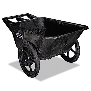 Rubbermaid Big Wheel Cart - 7.5 cubic feet