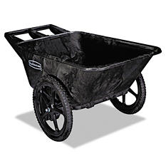Rubbermaid Big Wheel Cart - 7.5 cubic feet