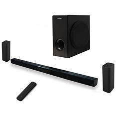 "MOXXI 54"" Modular Soundbar w/ Wireless Subwoofer and Karaoke Bonus Pack"