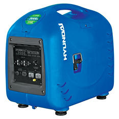 Hyundai 2,000W / 2,200W Portable Inverter Gas Powered Generator