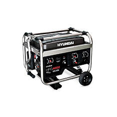 Hyundai 3,250W / 4,000W Portable Gas Powered Generator