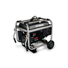Hyundai 5,750W / 6,500W Portable Gas Powered Generator