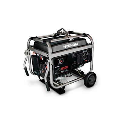 Hyundai 6,500 Watt Professional Portable Generator