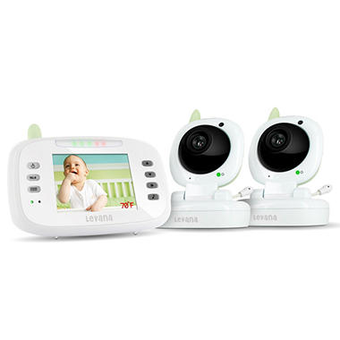 Levana Safe N' See Advanced Night Vision Video Baby Monitor